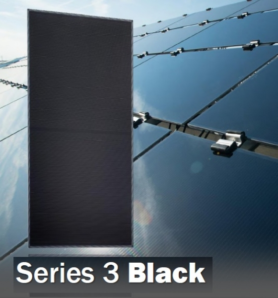 firstgreen product review first solar series 3 black module. Black Bedroom Furniture Sets. Home Design Ideas