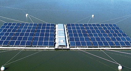 Grid Connected Floating Solar Pv Plant In Singapore